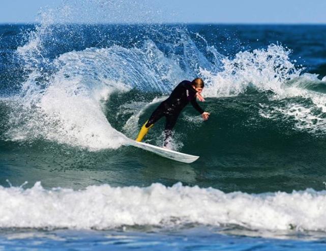 """Aaron """"Gorkin"""" Cormican surfing"""