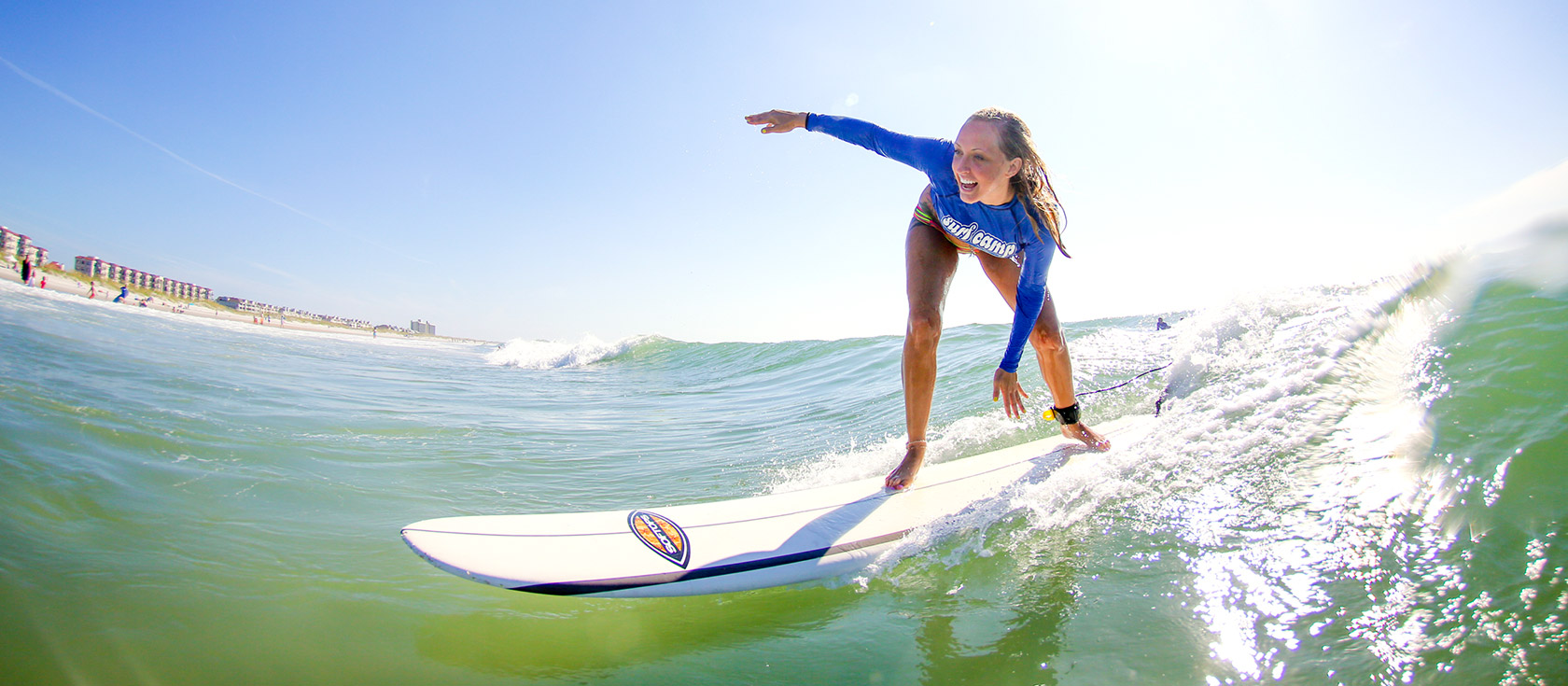 Basic surfcamp (2 hours a day)