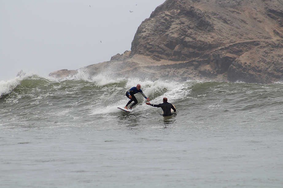 Chicama Surfing